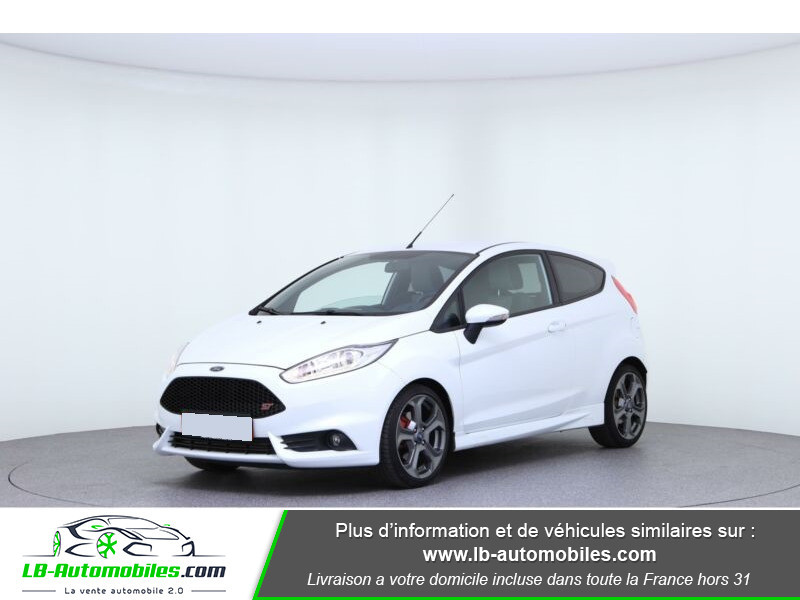 Ford Fiesta 1.6 EcoBoost 182 ST 3P Blanc occasion à Beaupuy