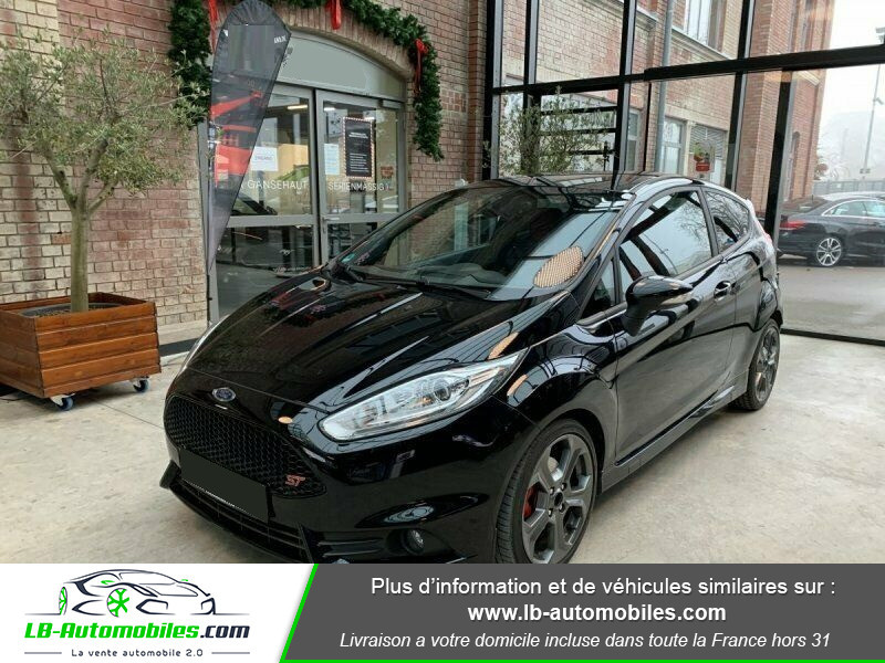 Ford Fiesta 1.6 EcoBoost 182 ST 3P Noir occasion à Beaupuy