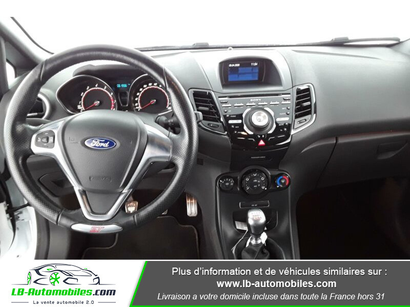 Ford Fiesta 1.6 EcoBoost 182 ST 3P Blanc occasion à Beaupuy - photo n°2