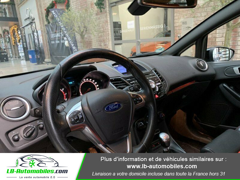 Ford Fiesta 1.6 EcoBoost 182 ST 3P Noir occasion à Beaupuy - photo n°5