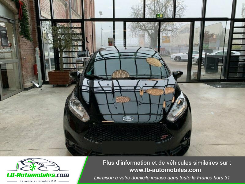 Ford Fiesta 1.6 EcoBoost 182 ST 3P Noir occasion à Beaupuy - photo n°6