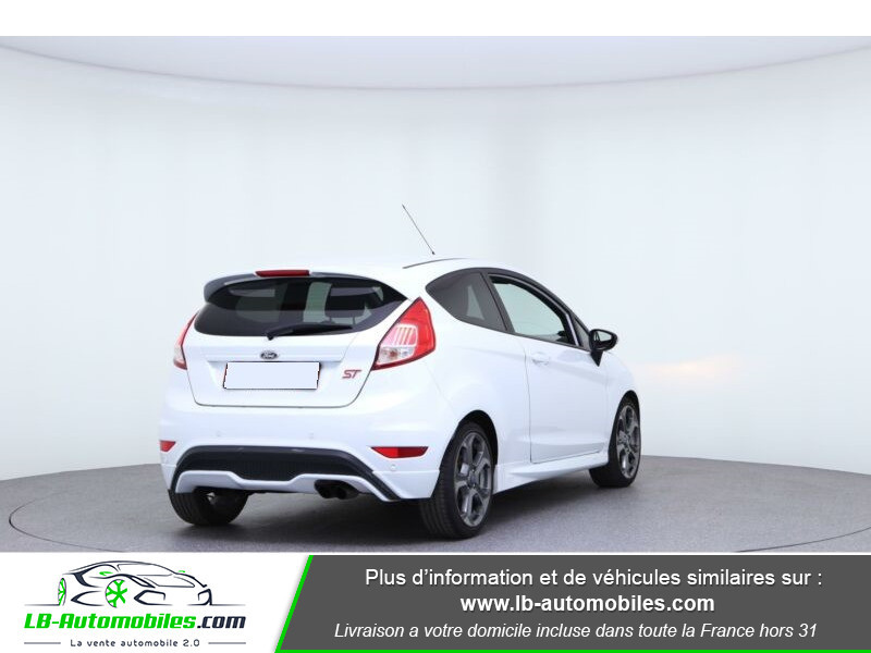 Ford Fiesta 1.6 EcoBoost 182 ST 3P Blanc occasion à Beaupuy - photo n°3