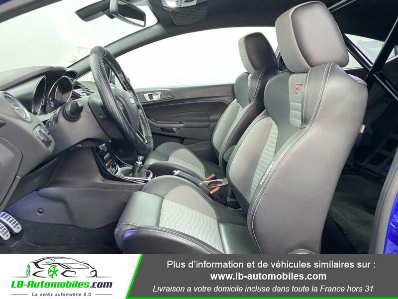 Ford Fiesta 1.6 EcoBoost 182 ST 3P Bleu occasion à Beaupuy - photo n°5