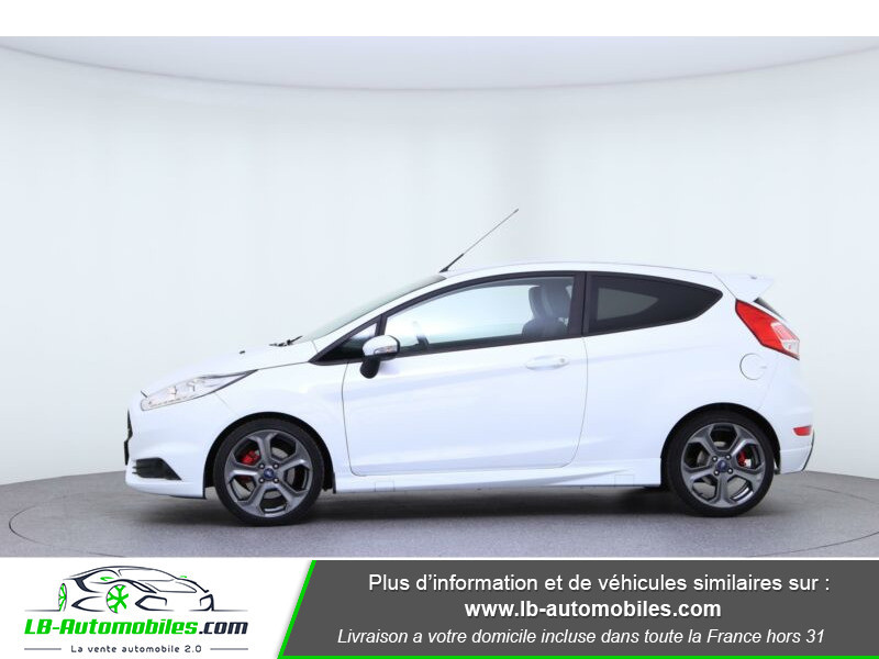 Ford Fiesta 1.6 EcoBoost 182 ST 3P Blanc occasion à Beaupuy - photo n°6