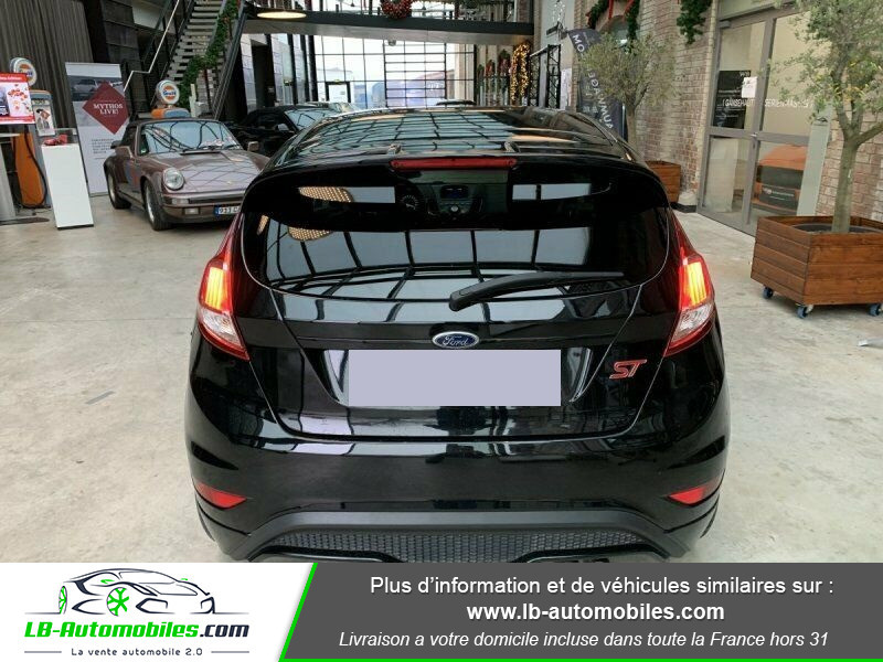 Ford Fiesta 1.6 EcoBoost 182 ST 3P Noir occasion à Beaupuy - photo n°7