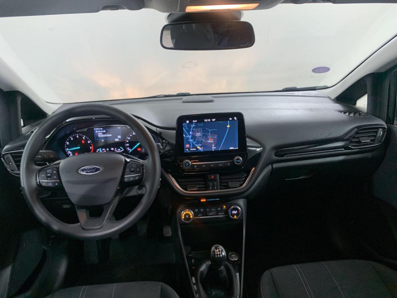 Ford Fiesta 85 CV TREND BUSINESS NAV Noir occasion à Verfeil - photo n°2