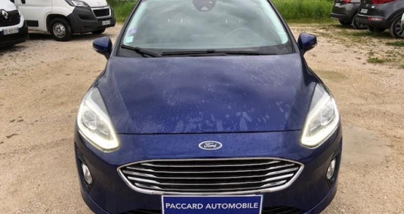 Ford Fiesta ECOBOOST 100cv B&O PLAY FIRST EDITION 5P Bleu occasion à La Buisse - photo n°5