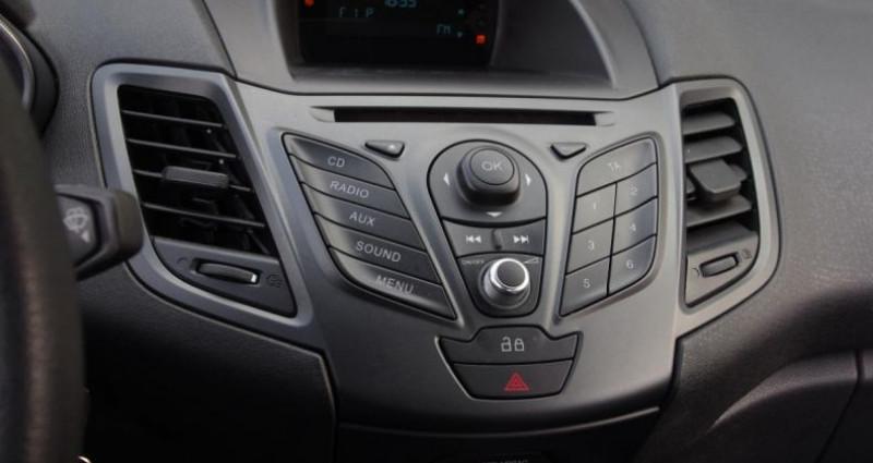 Ford Fiesta V (2) 1.5 TDCI 75 FAP TREND 3P Noir occasion à Chambourcy - photo n°7
