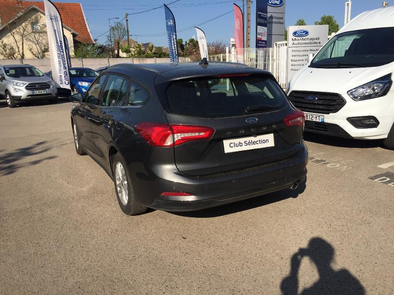 Ford Focus SW 1.5 EcoBlue 120ch Titanium BVA Gris occasion à Dole - photo n°5