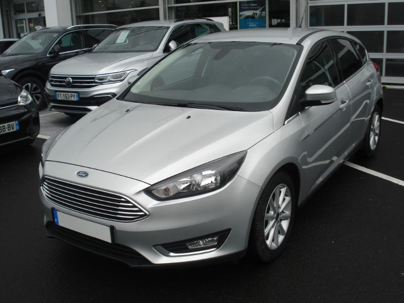 Ford Focus 1.0 EcoBoost 100ch Stop&Start Business Nav 99g Gris occasion à Aurillac - photo n°3
