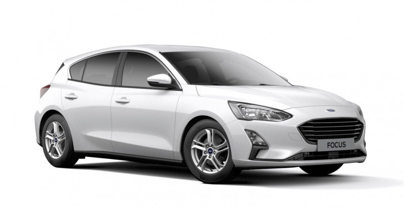 Ford Focus 1.0 EcoBoost 100ch Stop&Start Trend Blanc occasion à NARBONNE