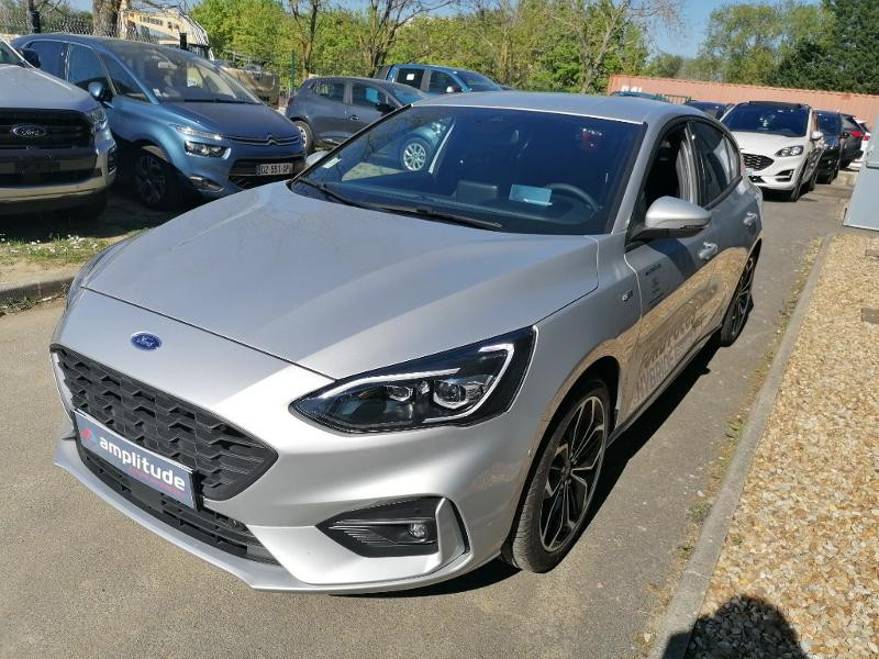 Ford Focus 1.0 EcoBoost 125ch mHEV ST-Line Business Gris occasion à Saint-Doulchard - photo n°2