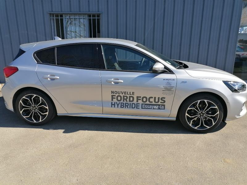 Ford Focus 1.0 EcoBoost 125ch mHEV ST-Line Business Gris occasion à Saint-Doulchard - photo n°4