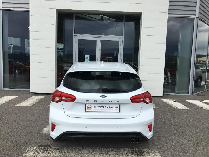Ford Focus 1.0 EcoBoost 125ch ST-Line Blanc occasion à Mende - photo n°4