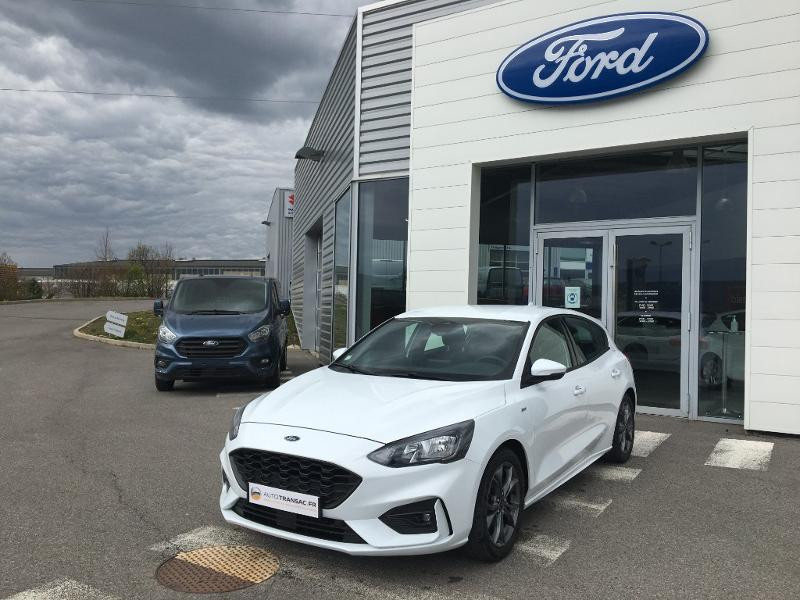 Ford Focus 1.0 EcoBoost 125ch ST-Line Blanc occasion à Mende