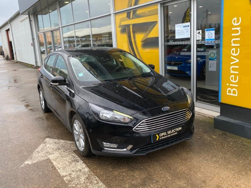 Ford Focus 1.0 EcoBoost 125ch Titanium Noir occasion à Samoreau