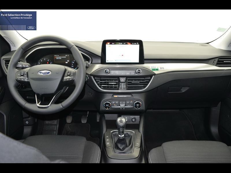 Ford Focus 1.0 EcoBoost 125ch Titanium Gris occasion à Auxerre - photo n°7