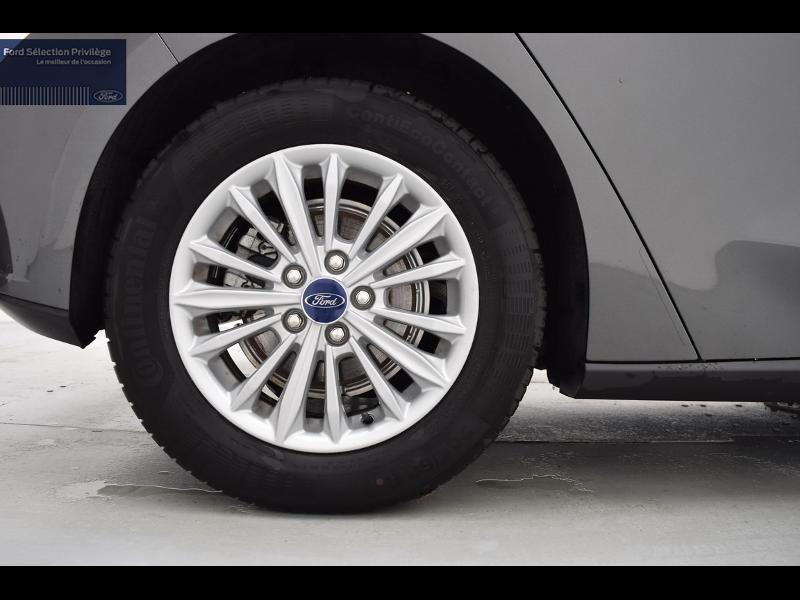 Ford Focus 1.0 EcoBoost 125ch Titanium Gris occasion à Auxerre - photo n°6