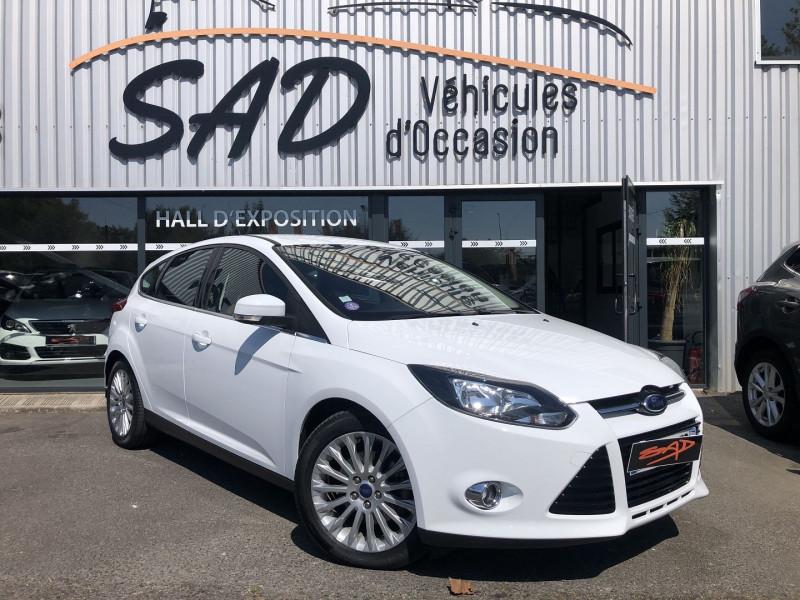 Ford Focus 1.6 SCTI 182CH STOP&START TITANIUM X 5P Blanc occasion à TOULOUSE