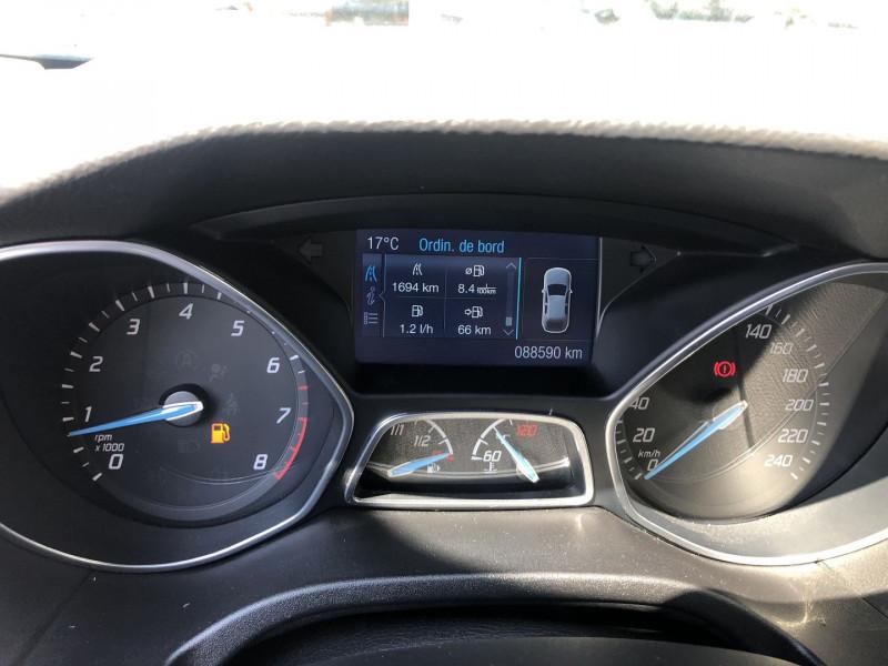 Ford Focus 1.6 SCTI 182CH STOP&START TITANIUM X 5P Blanc occasion à TOULOUSE - photo n°11