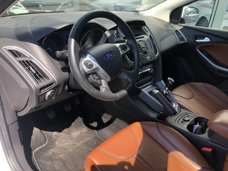 Ford Focus 1.6 SCTI 182CH STOP&START TITANIUM X 5P Blanc occasion à TOULOUSE - photo n°3