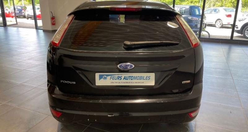 Ford Focus 1.8 TDCi 115 Ghia toit ouvrant Noir occasion à CIVENS - photo n°6