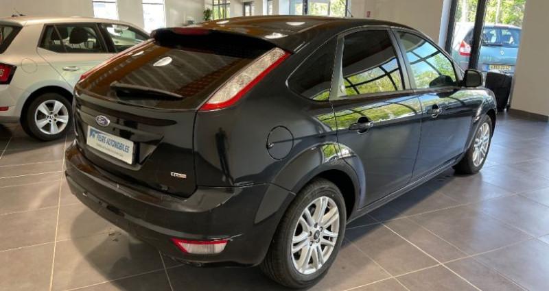 Ford Focus 1.8 TDCi 115 Ghia toit ouvrant Noir occasion à CIVENS - photo n°5