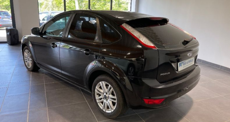 Ford Focus 1.8 TDCi 115 Ghia toit ouvrant Noir occasion à CIVENS - photo n°4