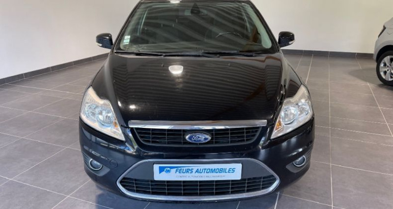 Ford Focus 1.8 TDCi 115 Ghia toit ouvrant Noir occasion à CIVENS - photo n°3