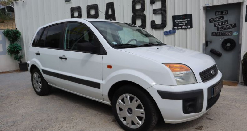 Ford Fusion 1.4 TDCI 68CH TREND Blanc occasion à Le Muy