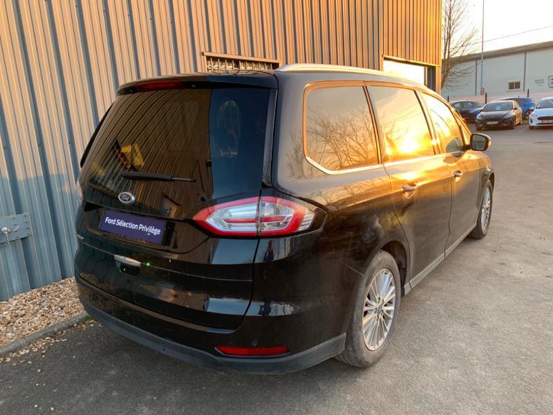 Ford Galaxy 2.0 EcoBlue 190ch Titanium BVA8 Euro6.2 Noir occasion à Saint-Doulchard - photo n°4