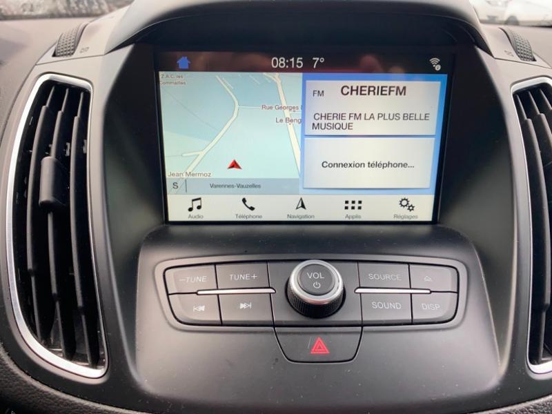 Ford Grand C-Max 1.5 TDCi 120ch Stop&Start Titanium X PowerShift Euro6.2 Gris occasion à Varennes-Vauzelles - photo n°11