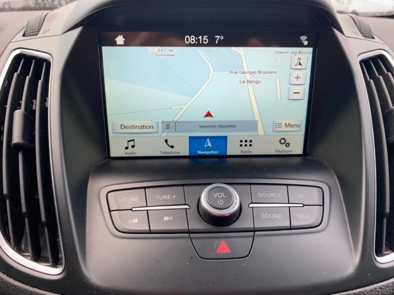 Ford Grand C-Max 1.5 TDCi 120ch Stop&Start Titanium X PowerShift Euro6.2 Gris occasion à Varennes-Vauzelles - photo n°15