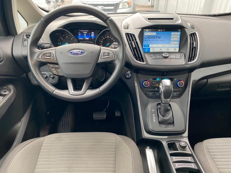 Ford Grand C-Max 1.5 TDCi 120ch Stop&Start Titanium X PowerShift Euro6.2 Gris occasion à Varennes-Vauzelles - photo n°9