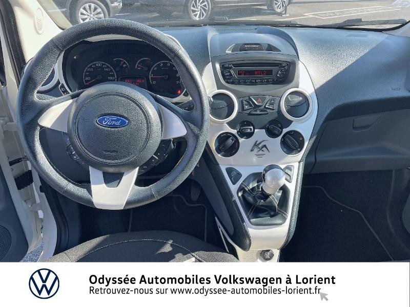 Ford Ka 1.2 69ch Stop&Start White Edition Blanc occasion à Lanester - photo n°6