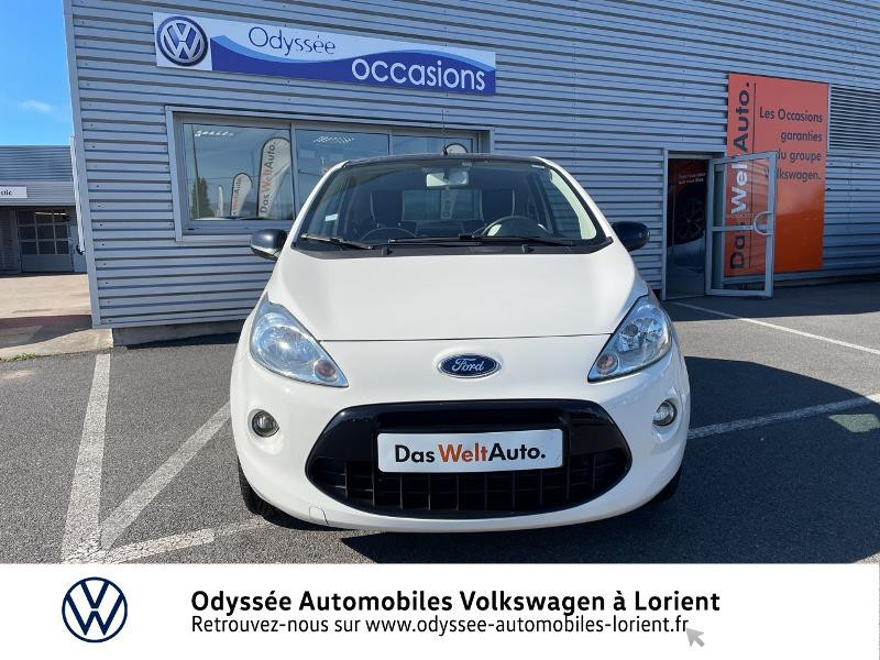 Ford Ka 1.2 69ch Stop&Start White Edition Blanc occasion à Lanester - photo n°5