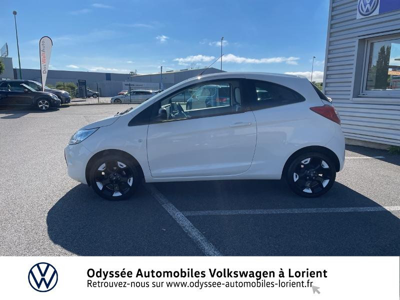 Ford Ka 1.2 69ch Stop&Start White Edition Blanc occasion à Lanester - photo n°2