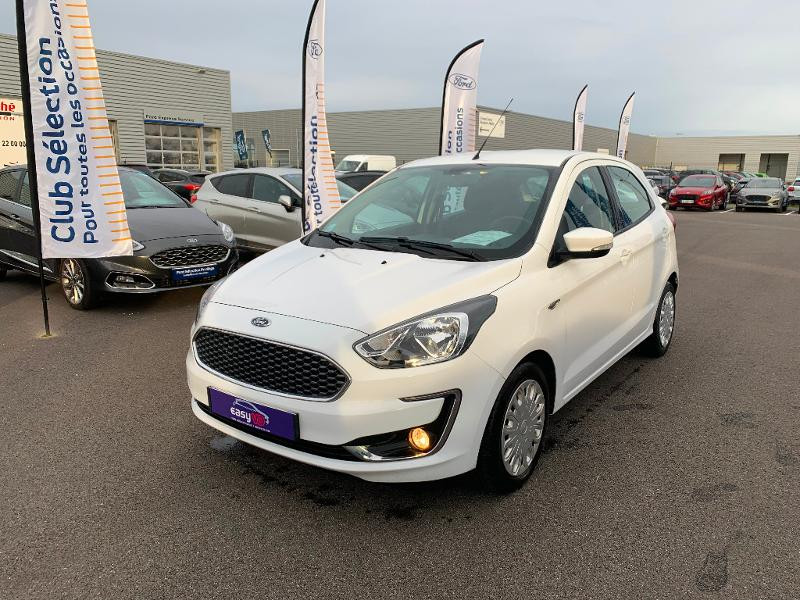 Ford Ka+ 1.2 Ti-VCT 70ch S&S Essential Blanc occasion à Amilly