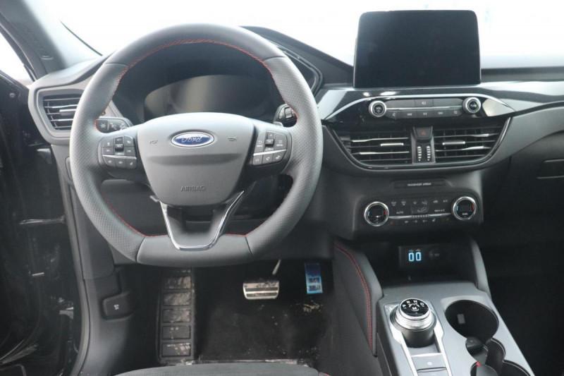 Ford Kuga 1.5 ECOBLUE 120 A8 ST LINE X Noir occasion à Semécourt - photo n°4