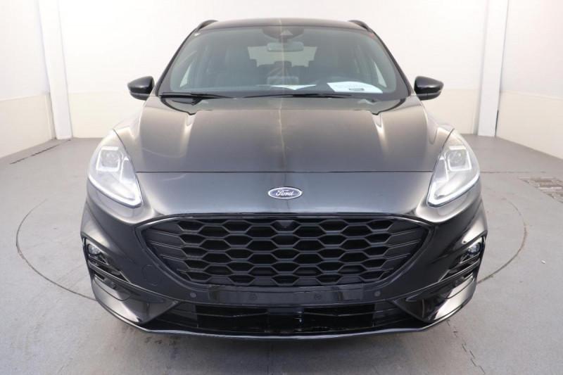 Ford Kuga 1.5 ECOBLUE 120 A8 ST LINE X Noir occasion à Semécourt - photo n°2
