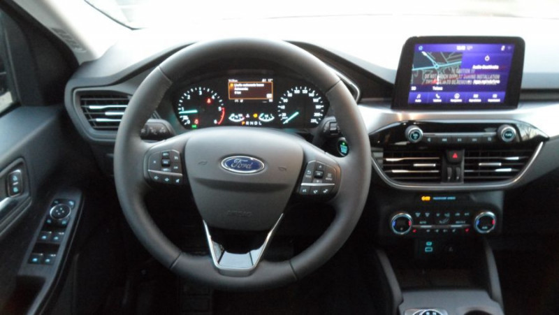 Ford Kuga 1.5 ECOBLUE 120 BVA TITANIUM GPS Pack Hiver RDS Noir occasion à Toulouse - photo n°17