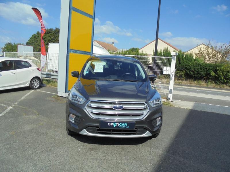 Ford Kuga 1.5 EcoBoost 120ch Stop&Start Titanium 4x2 Gris occasion à Corbeil-Essonnes - photo n°2