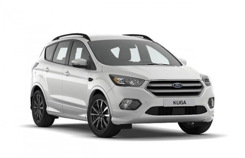 Ford Kuga 1.5 Flexifuel-E85 150ch Stop&Start Vignale 4x2 BVA Euro6.2 Blanc occasion à AIX-EN-PROVENCE