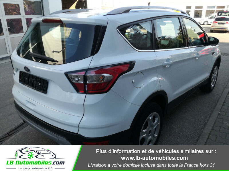 Ford Kuga 1.5 TDCi 120 Blanc occasion à Beaupuy - photo n°3