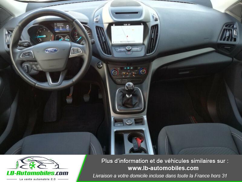 Ford Kuga 1.5 TDCi 120 Blanc occasion à Beaupuy - photo n°2