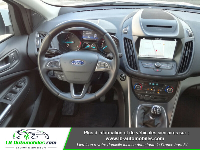 Ford Kuga 1.5 TDCi 120 Blanc occasion à Beaupuy - photo n°6