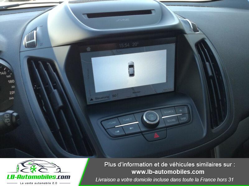 Ford Kuga 1.5 TDCi 120 Blanc occasion à Beaupuy - photo n°8