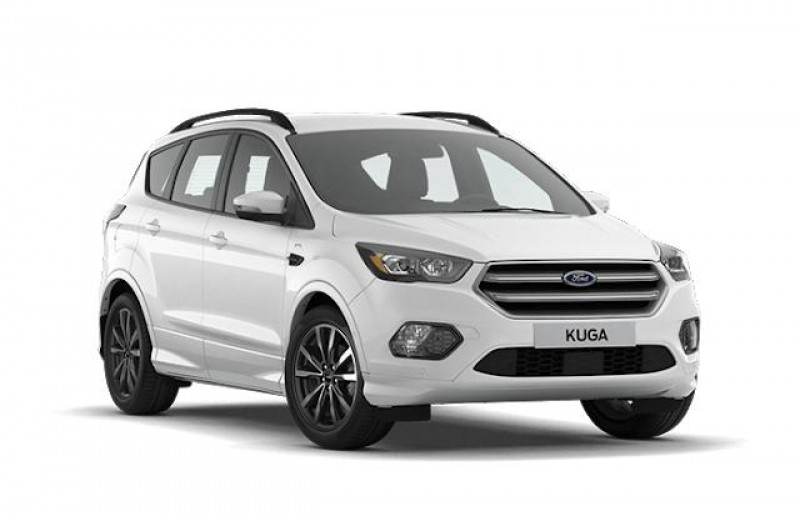 Ford Kuga 1.5 TDCi 120ch Stop&Start ST-Line Black & Silver 4x2 Euro6.2 Blanc occasion à PUGET SUR ARGENS