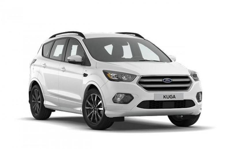 Ford Kuga 1.5 TDCi 120ch Stop&Start ST-Line Black & Silver 4x2 Euro6.2 Blanc occasion à DRAGUIGNAN