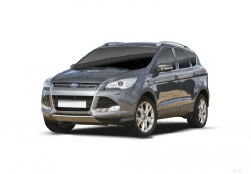 Ford Kuga 2.0 TDCi 115ch FAP Trend Blanc occasion à LA QUEUE-EN-BRIE